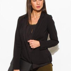 🆕️Black classic button close suiting blazer